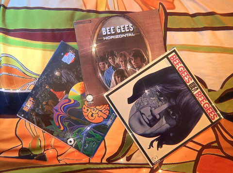 The Bee Gees - 1st, Horizontal & Idea (Polydor/Atco, 1967-1968)