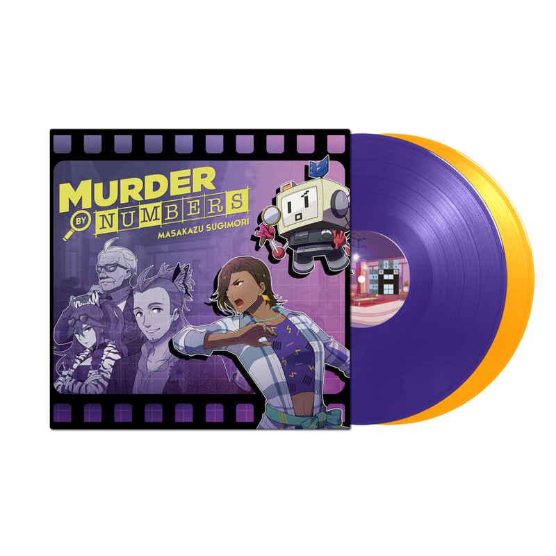 Murder By Numbers - Original Video Game Soundtrack 2XLP