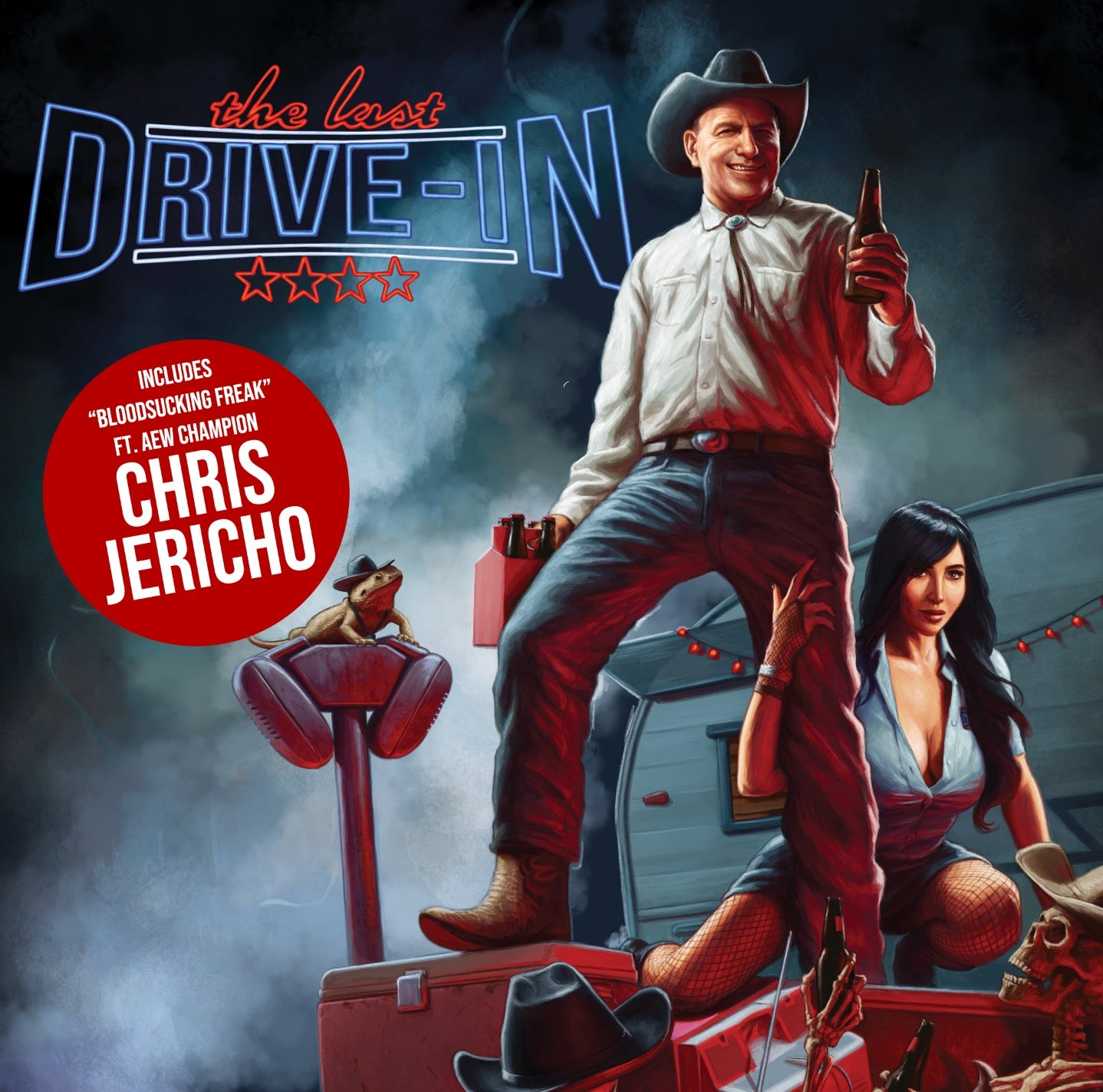 "Chris Jericho (Feat. John Brennan) - The Last Drive-In ""Bloodsucking Freak"" Soundtrack EP"