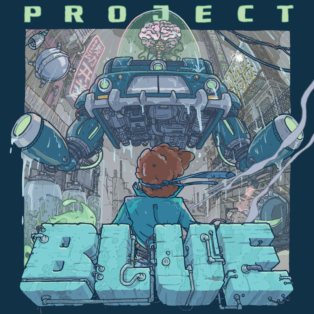 Project Blue - Original Video Game Soundtrack LP