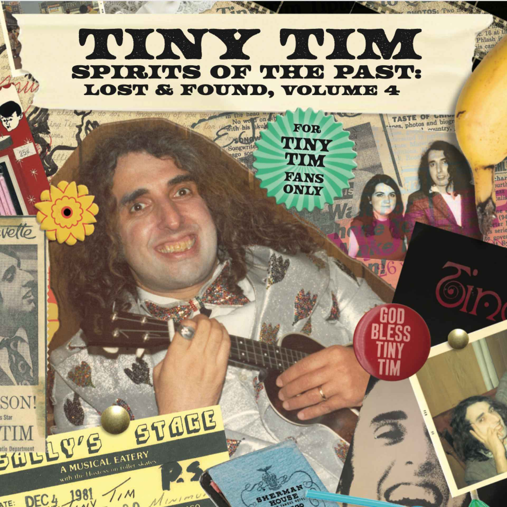 Tiny Tim - Spirits Of The Past: Lost & Found Volume 4 CD