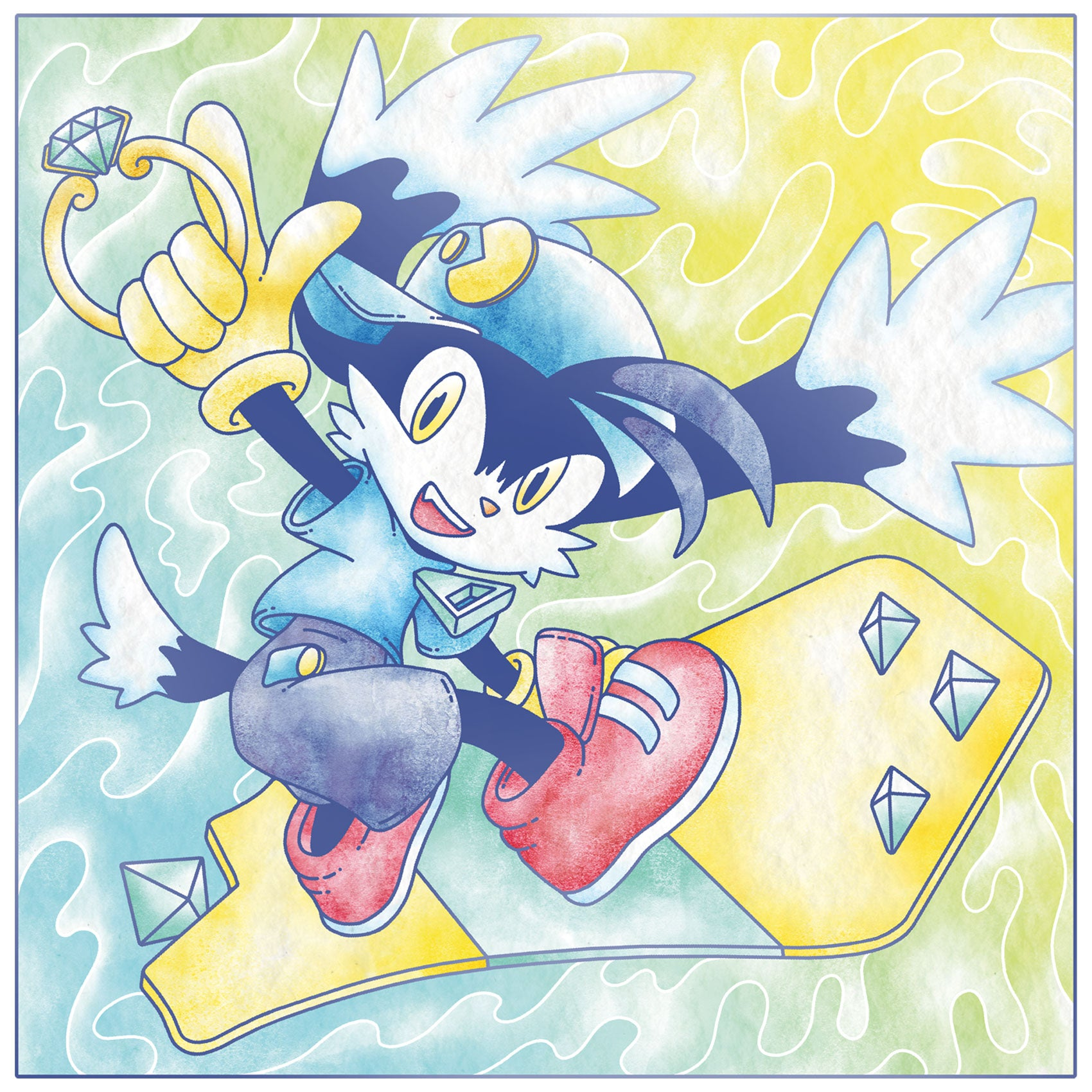 Klonoa 2: Lunatea's Veil (Original Video Game Soundtrack) 2XLP