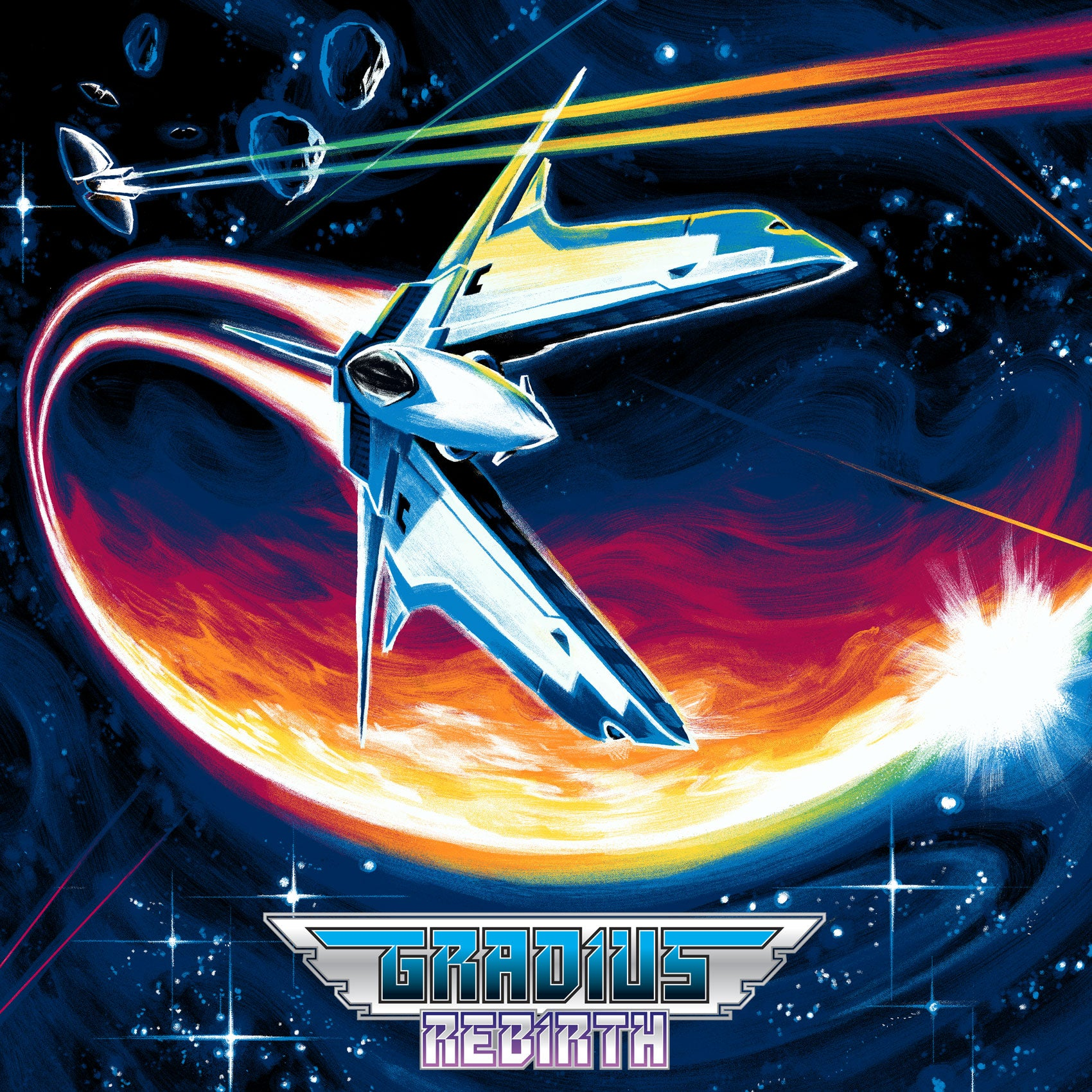 Gradius ReBirth - Original Video Game Soundtrack 2XLP