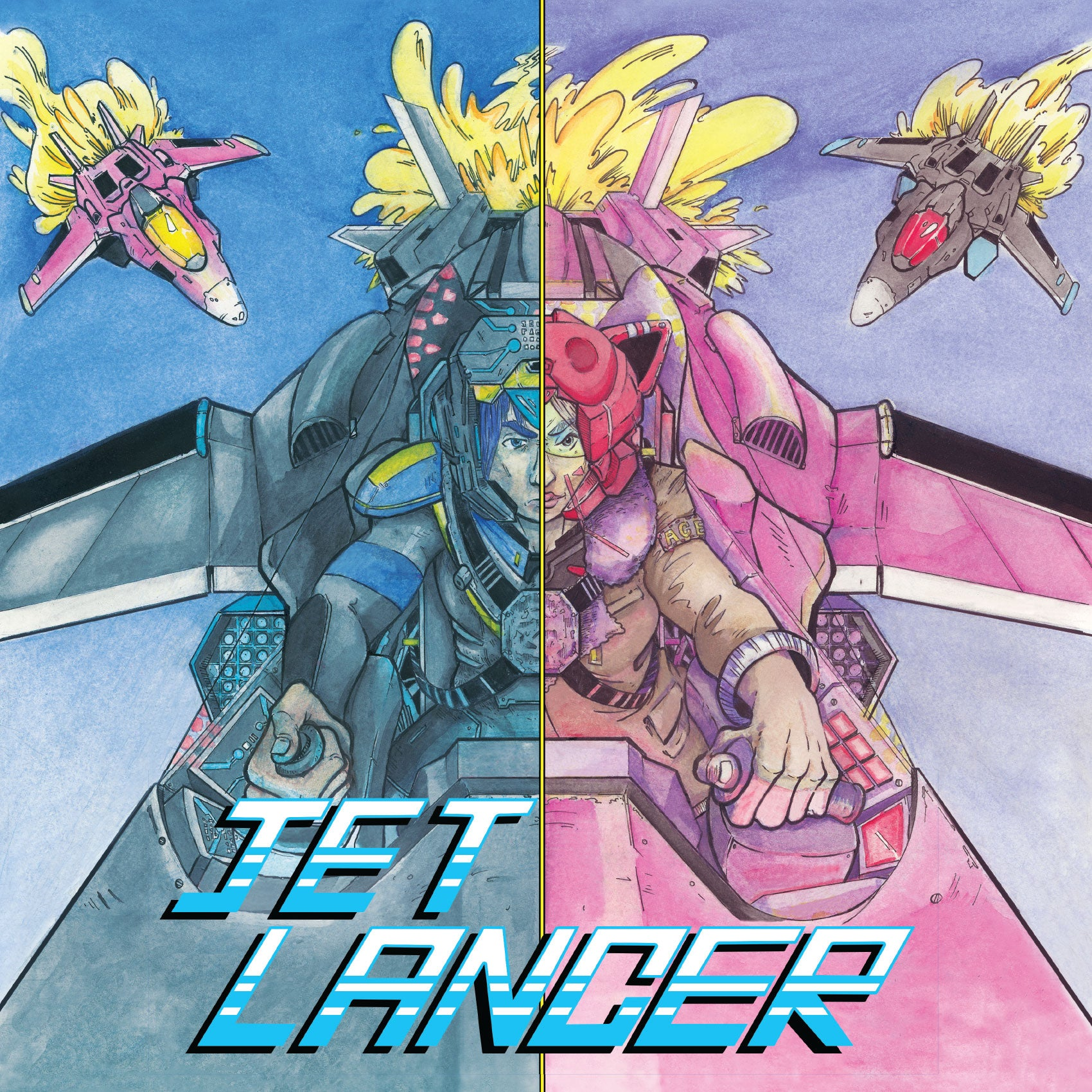Jet Lancer - Original Video Game Soundtrack LP