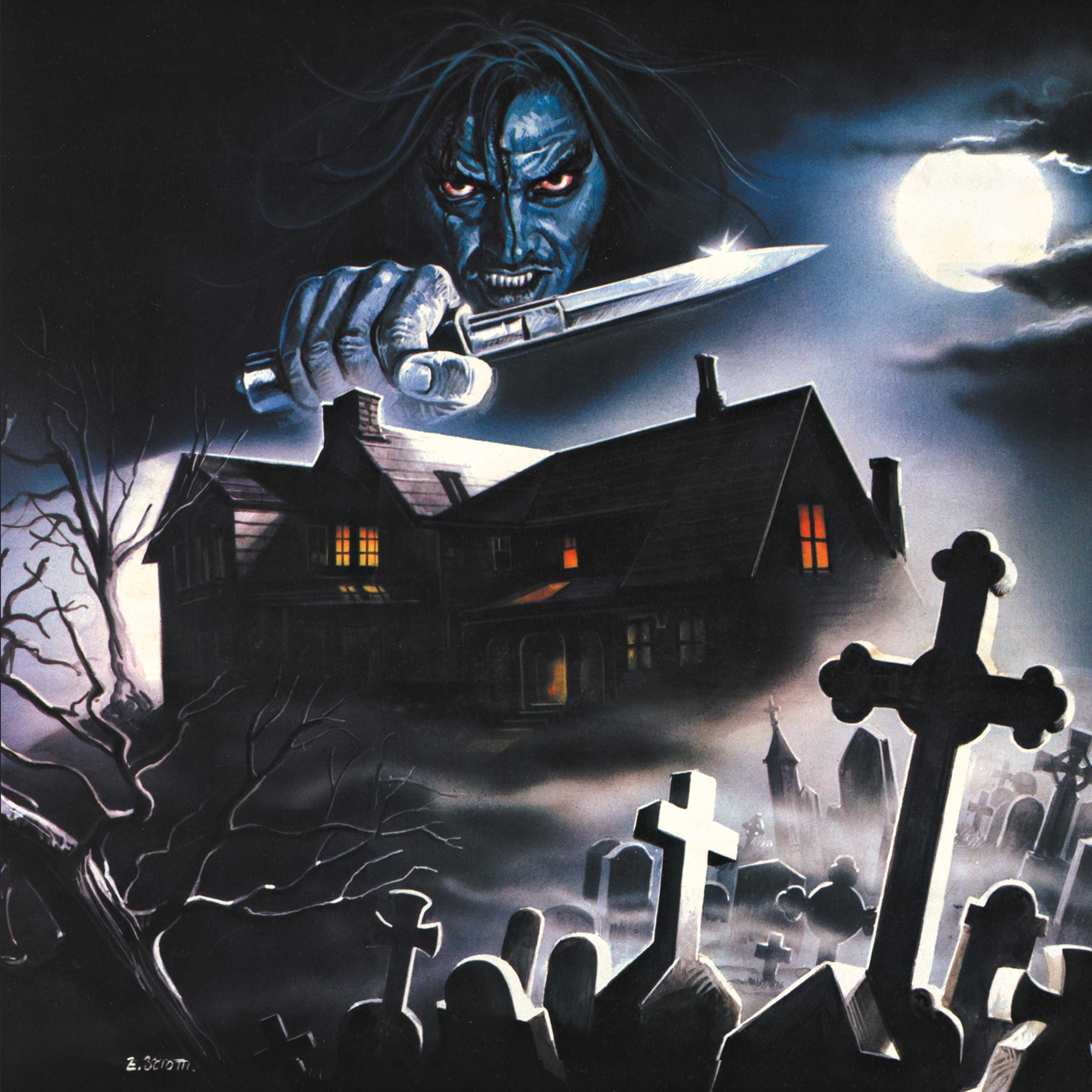 House By The Cemetery (Expanded Edition) - Original Motion Picture Soundtrack 2XLP