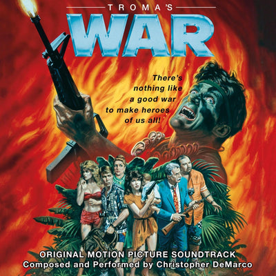 Troma's War - Original Motion Picture Soundtrack LP