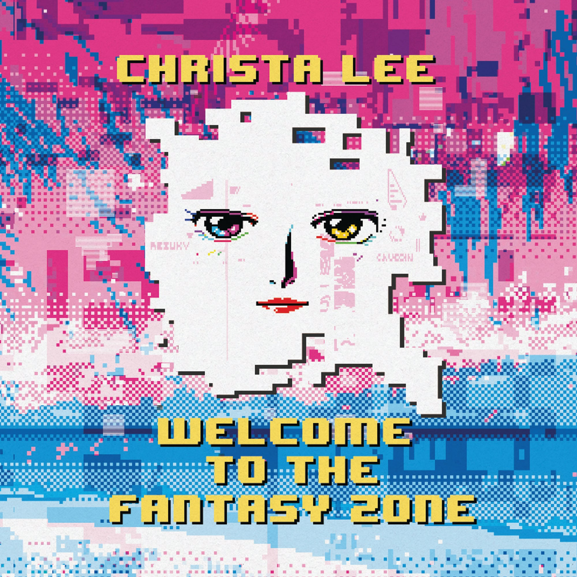 Christa Lee - Welcome to the Fantasy Zone LP