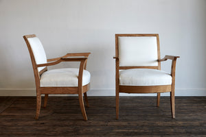 Vintage French Arm Chairs