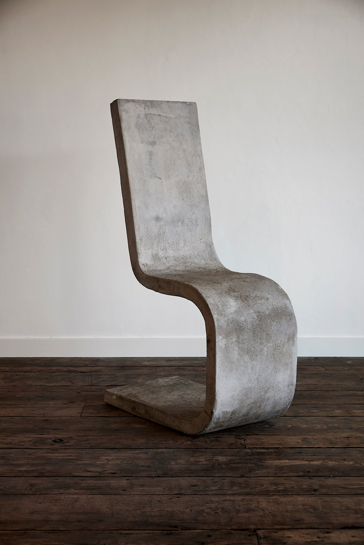 Vintage Concrete Side Chair
