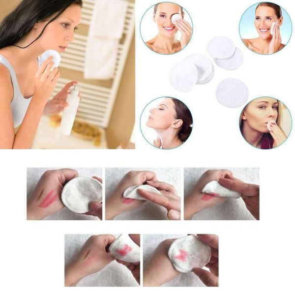 Eco-Friendly Makeup Remover Pad (12 pcs set) - OurBeautyForum
