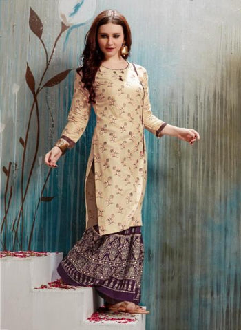 Rayon Regular Wear Fancy Printed Kurtis Suit