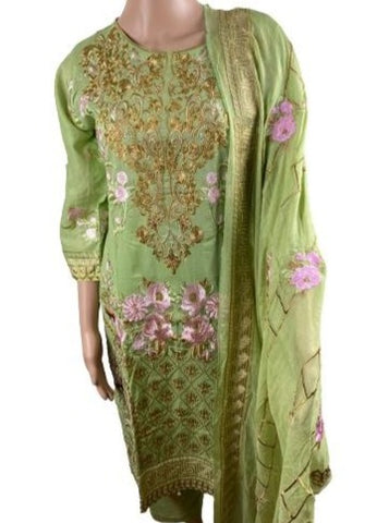 Pakistani Salwar suit with embroidery work