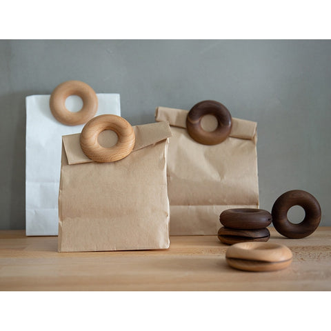 Nordic Doughnut Shape Wooden Bag Sealer - Orz LOL Orz