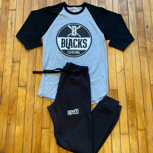 """The Blacks"" Raglan"