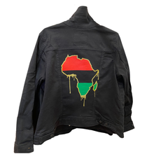 Load image into Gallery viewer, Motherland Drip - Denim Jacket