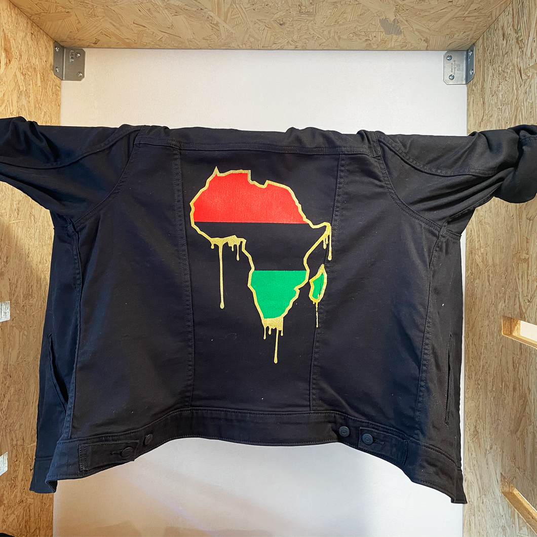 Motherland Drip - Denim Jacket
