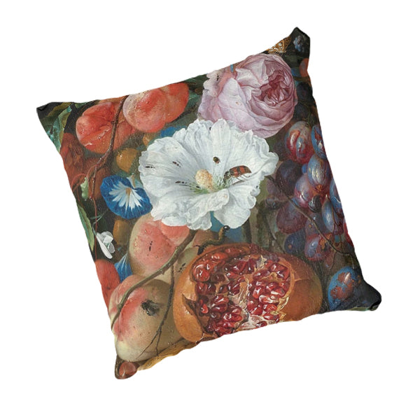 Natural Linen Scatter Cushion - Still Life 1660 Artwork