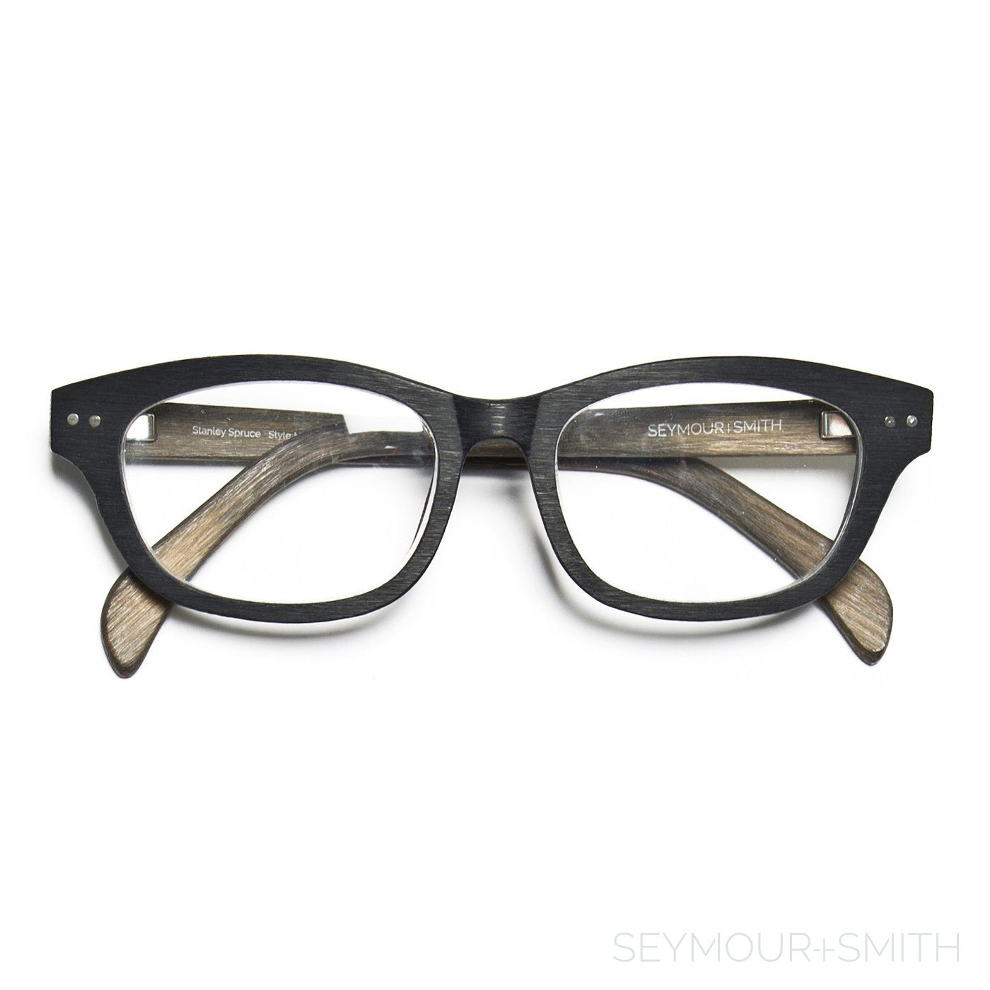 61fb7cbbd4c ... Seymour and Smith Stanley Spruce Reading Glasses for Men and Women ...