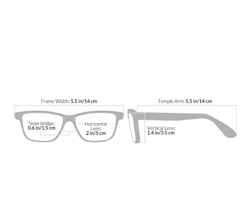 Coal Harbour - Large Frames Reading Glasses for Men by Seymour and Smith