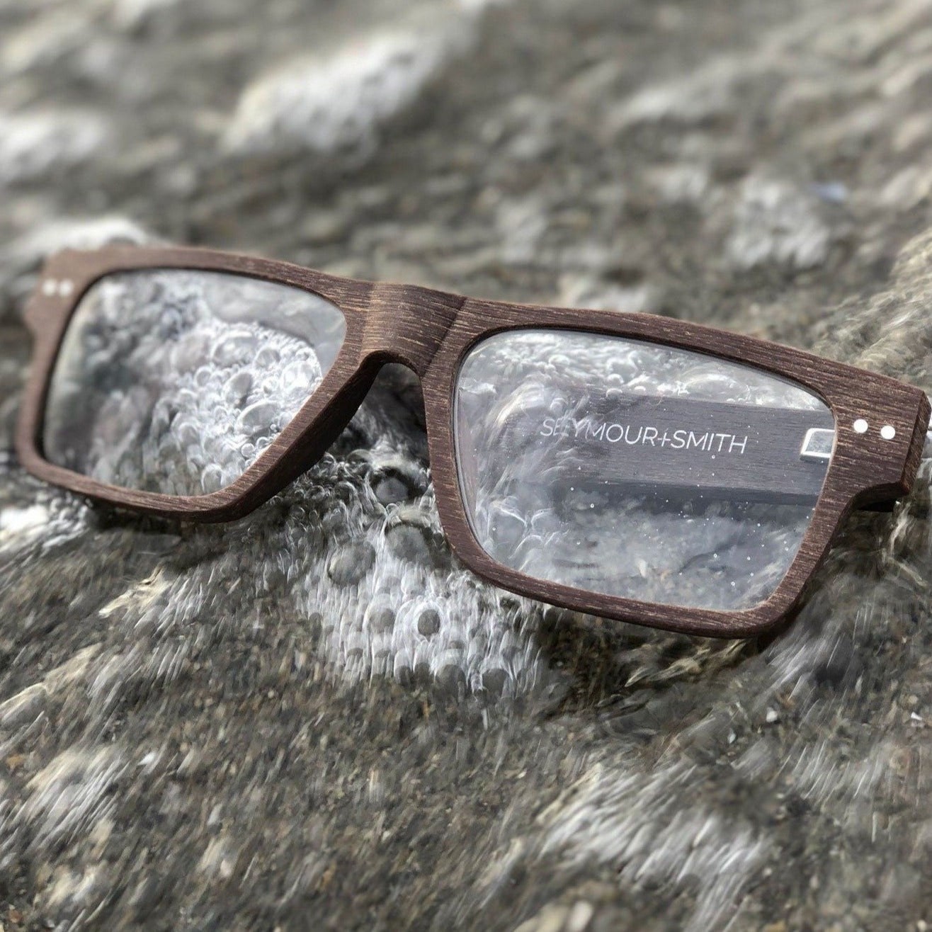 Downtown Brown Reading Glasses for Men by Seymour and Smith