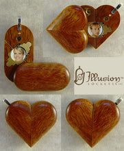 Load image into Gallery viewer, 1902 Thin Narra Wood Illusionist Locket