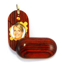 Load image into Gallery viewer, 2644 Slim No Image Wood Illusionist Locket