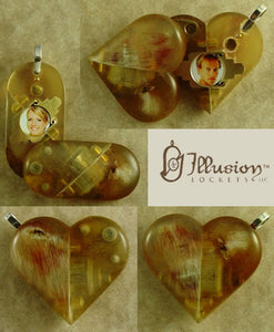 4037 Thin Ramshorn Illusionist Locket