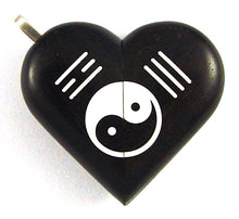 Load image into Gallery viewer, 4971 Natural Yin Yang Ebony Wood Illusionist Locket