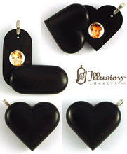Load image into Gallery viewer, 5050 Natural Ebony Wood Illusionist Locket