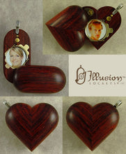 Load image into Gallery viewer, 5186 Magic Heart Illusionist Locket