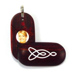 5419 Natural Celtic Knot Illusionist Locket