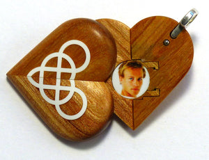 5454 Natural Double Infinity Illusionist Locket