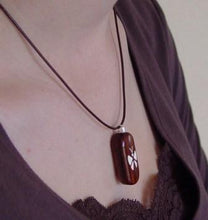 Load image into Gallery viewer, 4211 Thin Striped Ebony Wood Illusionist Locket