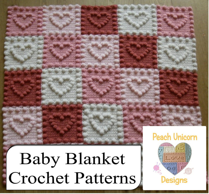 20+ Crochet Patterns for Baby Blankets