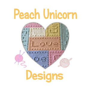 Peach Unicorn Designs Logo