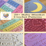 Crochet Baby Blanket Patterns Collection