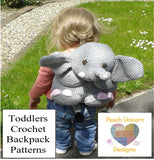 Backpack Crochet Pattern for Toddlers