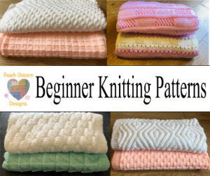 Collection of knit and Purl knitting patterns.