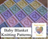 Baby Blanket Kntting Patterns