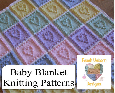 Modern Baby blanket pattern Collection