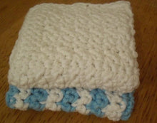 Load image into Gallery viewer, Practice Single Crochet Simple Dishcloth Pattern
