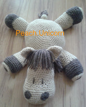 Load image into Gallery viewer, Horse Amigurumi Pillow CROCHET PATTERN