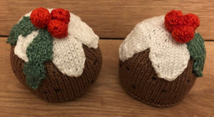 How to knit a christmas Pudding