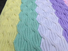 Load image into Gallery viewer, Free knitting patterns baby blanket