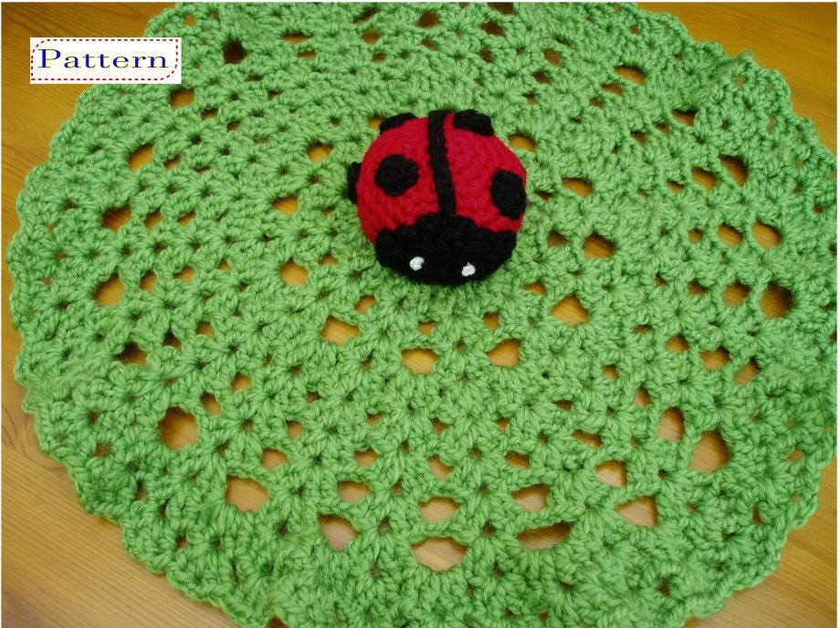 Free Crochet Lovey Pattern