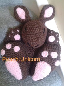 Crochet Pattern for Bag Amigurumi Rabbit Backpack