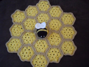 Crochet Motif lovey Pattern