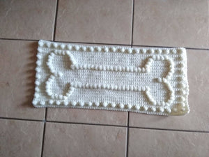 Bone Motif Crochet Pattern