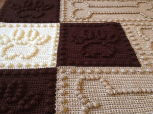 Crochet Patterns for Pet Blanket Dog