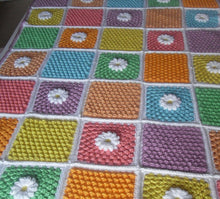 Load image into Gallery viewer, Free Blanket Crochet Pattern